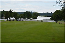 SU7784 : Marquees, Temple Meadow by N Chadwick