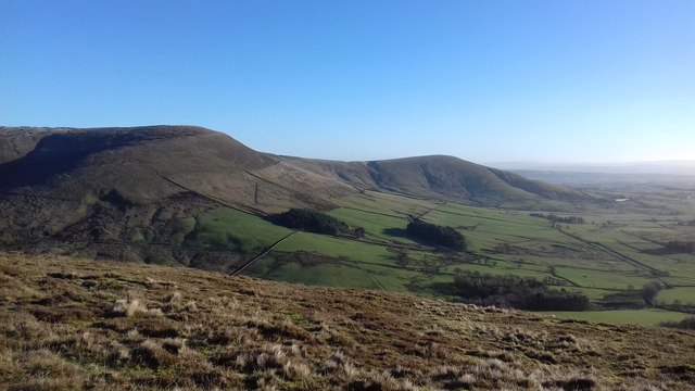 Winny Bank towards Fairsnape Fell and Parlick