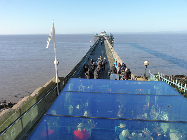 Cafe on Clevedon Pier
