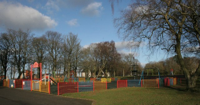 Play Area Cowan Park Barrhead Richard Sutcliffe
