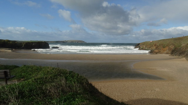 Trevone Bay near Padstow