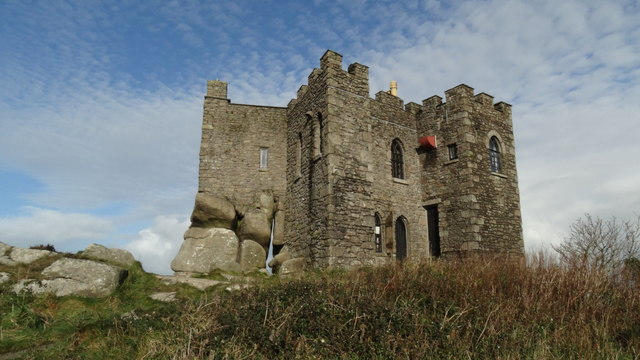 On Carn Brea near Redruth - Carn Brea Castle