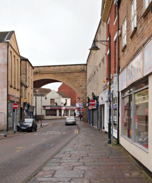 Queen Street, Mansfield, Notts.