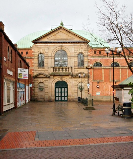 The Market Hall, Derby.