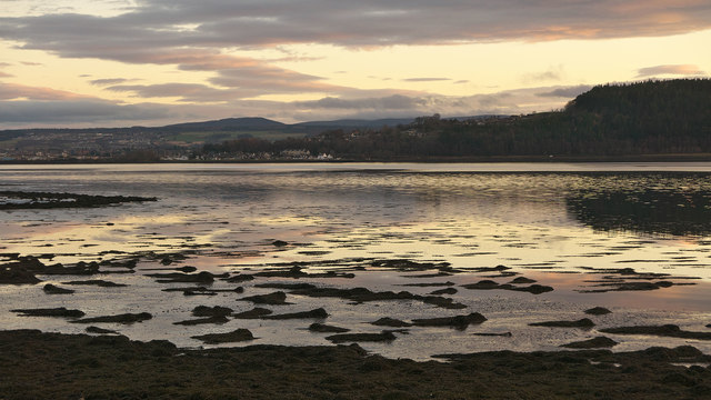 Inverness across the Beauly Firth from Charleston