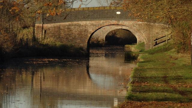 Llangollen Branch of Shropshire Union Canal - Martin's Bridge