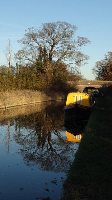Llangollen Branch of Shropshire Union Canal - Hurleston Bridge