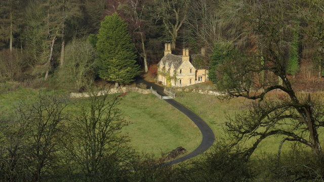 The Lodge at Lower Coscombe near Wood Stanway