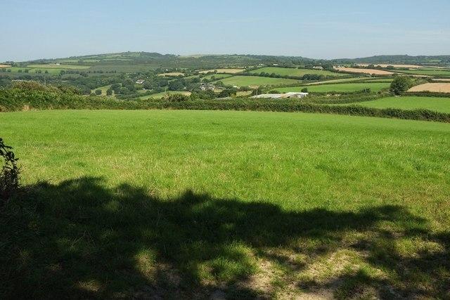 View near Trevorder