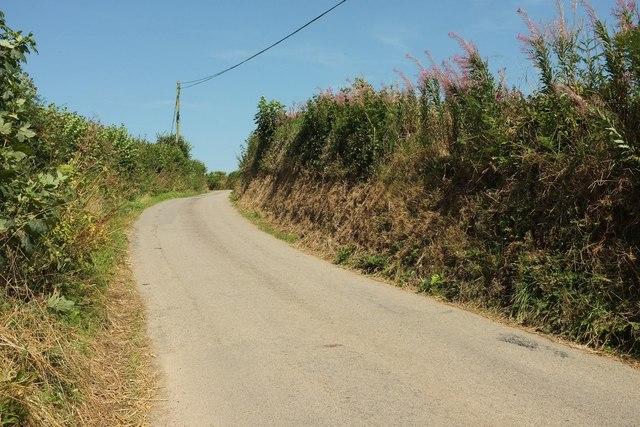 Lane to Trevorder