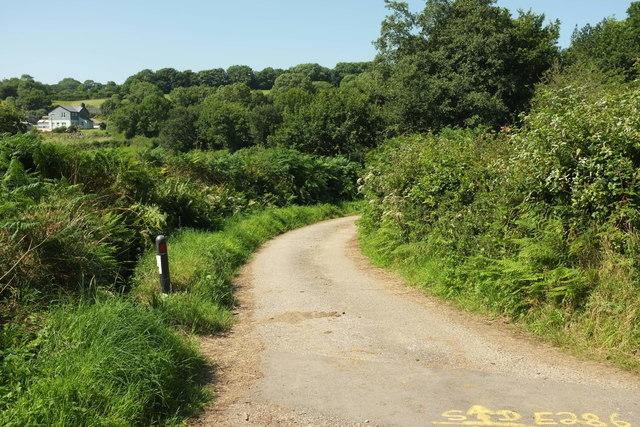 Lane to Tawna Downs