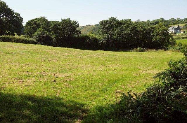 Field near Lower Hill