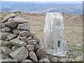 NO5484 : Triangulation pillar, Mount Battock by Richard Webb