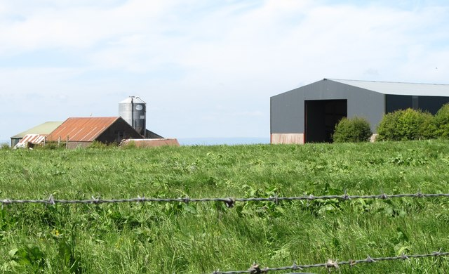 Farm outbuildings on the west side of Cargaclogher Road