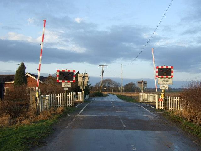 Level crossing Beswick Gate