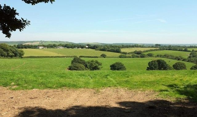 Towards Gwel-An-Nans Farm