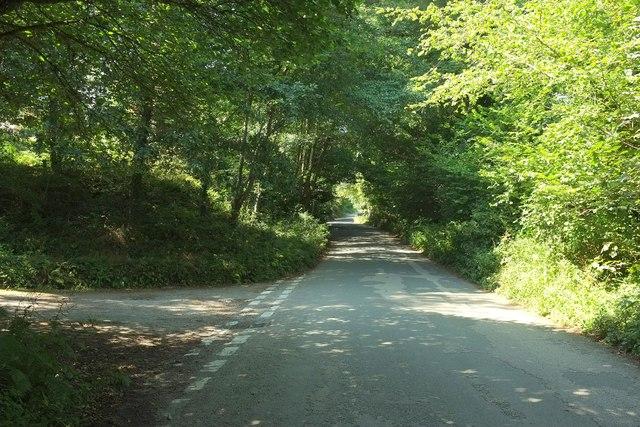 Road at Fletchersbridge