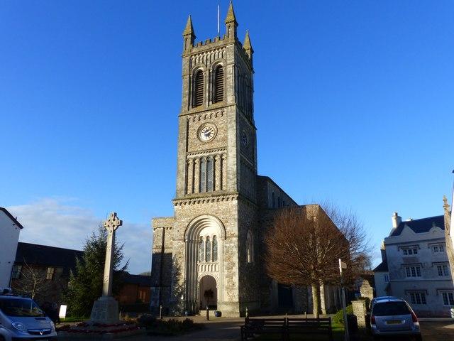 St Paul's church, Honiton, Devon