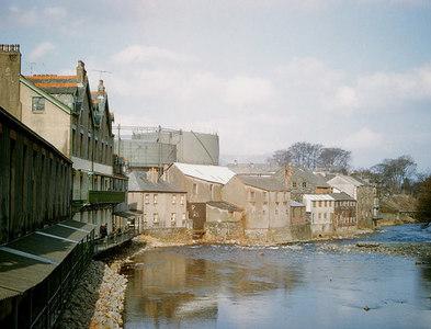 NY2623 : River Greta in Keswick, 1963 by John Carter