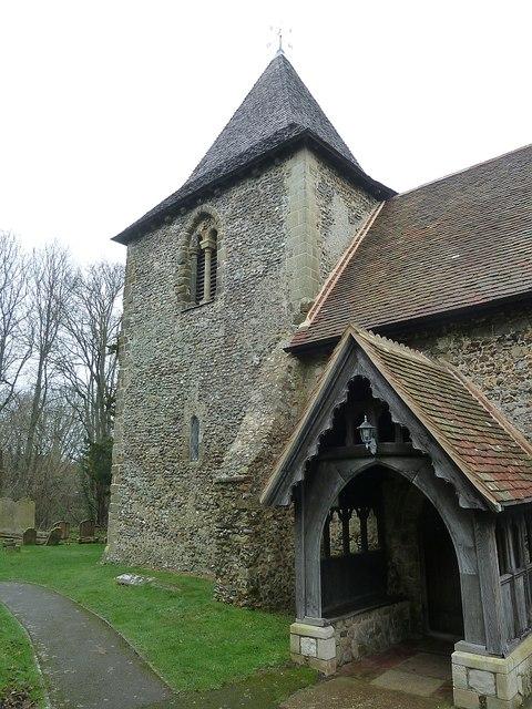 Thorney Island - Church of St Nicholas - Tower & Porch