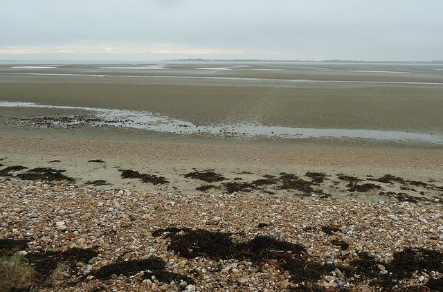 Sands to the south of Longmere Point, Thorney Island