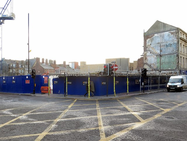 The site of Newgate Shopping Centre