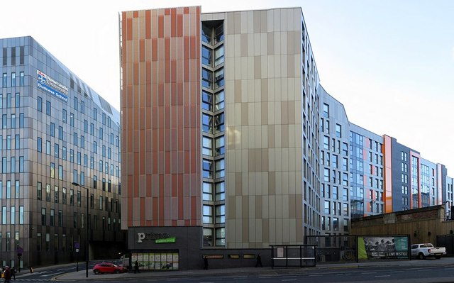 Student accommodation on Pitt Street