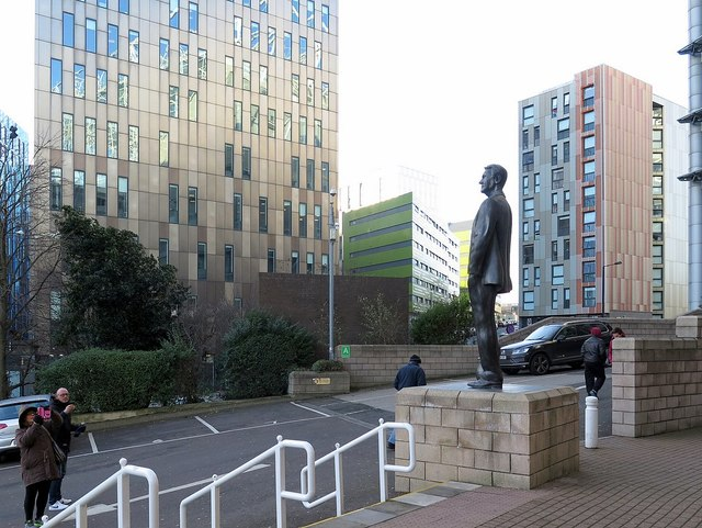 Sir Bobby Robson Statue, St James' Park, Newcastle