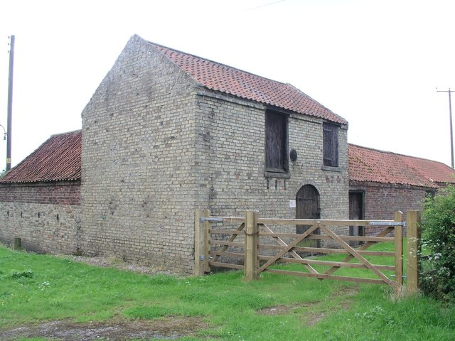 New Barnetby, farm building