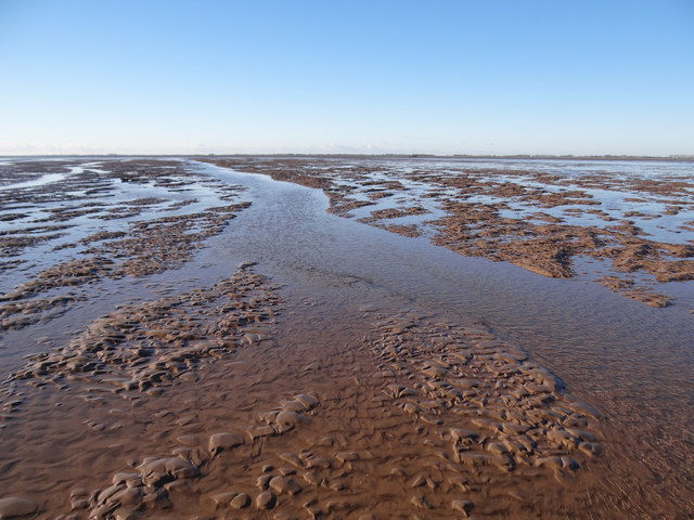 Mudflats between Butterwick Low and Wrangle Flats