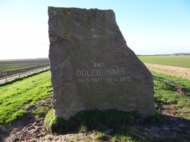 John Saul and Dulcie Saul Memorial