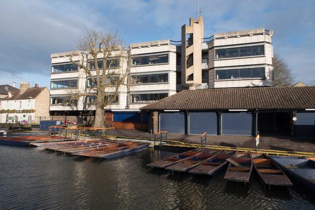 The University Centre & Punts