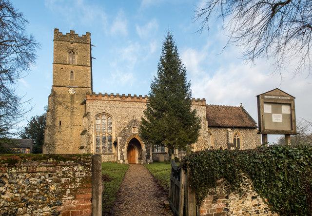 All Saints Church, Horseheath