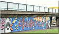 J3574 : Street art, Sydenham bypass, Belfast - January 2017(2) by Albert Bridge