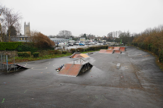 Waitrose Car Park Wells