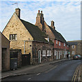 TL5380 : Ely: mediaeval houses on Silver Street by John Sutton