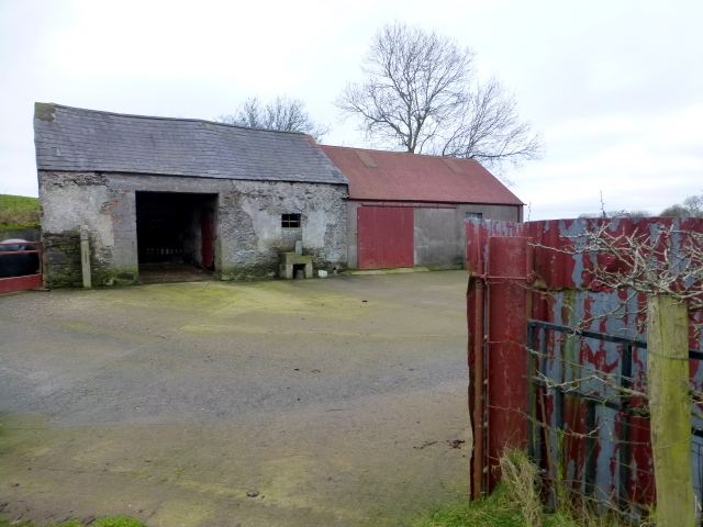 Farm buildings, Clogherny Glebe Upper