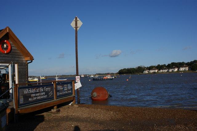 High tide, Felixstowe Ferry
