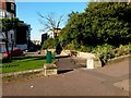 SZ0990 : Bournemouth: footpath C10 cuts a corner off by Chris Downer