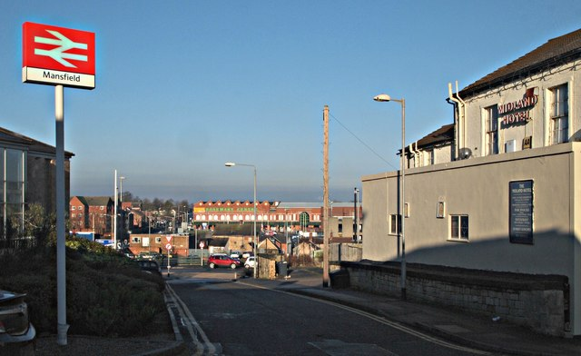 Station Road, Mansfield, Notts.