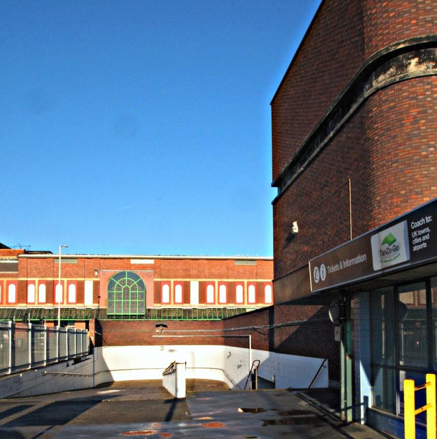 Former Bus Station, Mansfield, Notts.