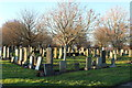NS3421 : Ayr Cemetery by Billy McCrorie