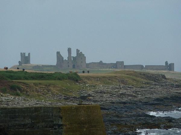 Dunstanburgh Castle from Craster