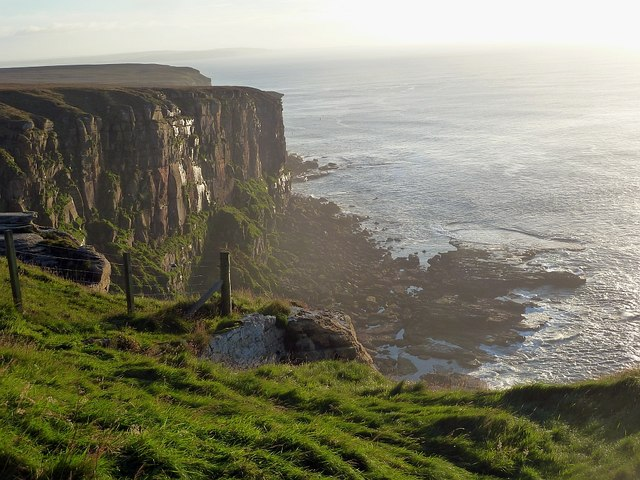 Dramatic cliff scenery, Dunnet Head
