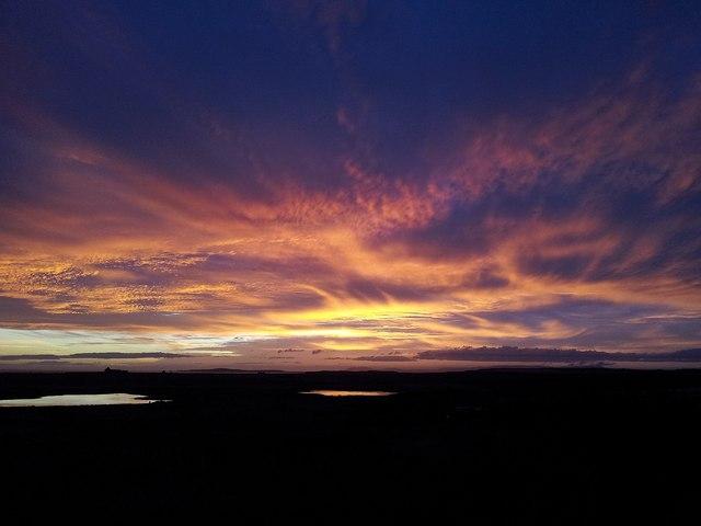 South Ronaldsay sunset (1)