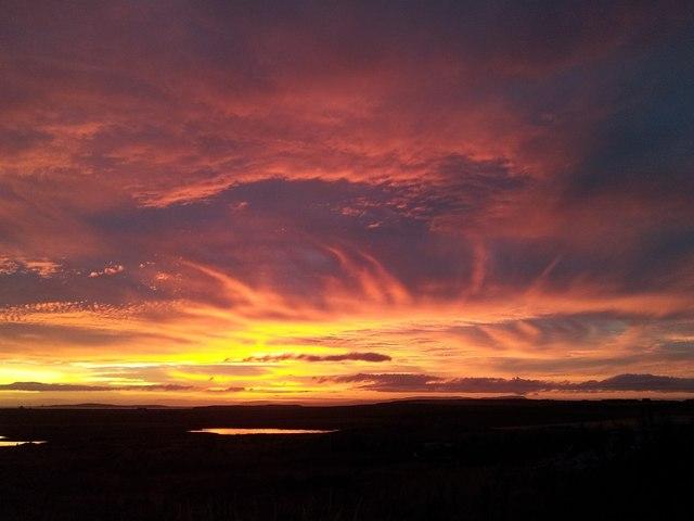 South Ronaldsay sunset (3)