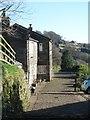 SE0026 : Footpath at Owlers by Gordon Hatton