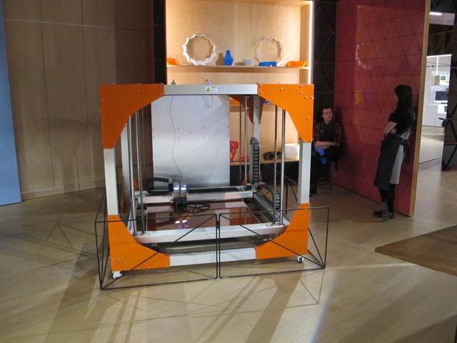 3D digital printing of furniture, Design Museum