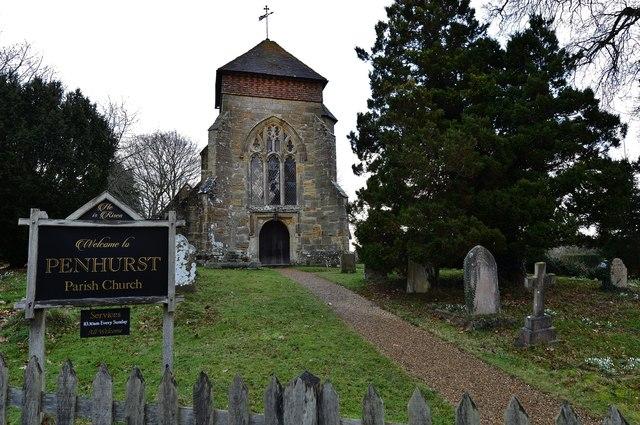 Penhurst Parish Church western aspect