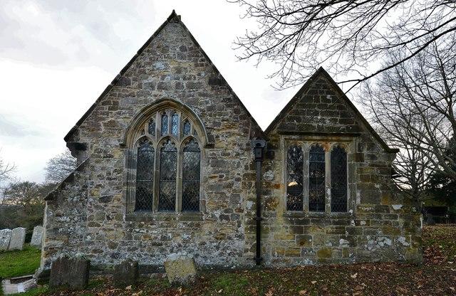 Penhurst Parish Church eastern aspect